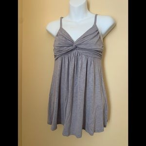 Forever 21 | Empire top. Light grey . Size Large